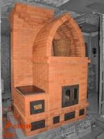 Отопительная печь, варочная панель, каминопечь
