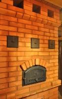 Печь для дачи - с хлебной камерой на первом этаже
