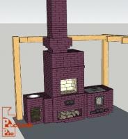 Вариант исполнения уличного комплекса - эскизный проект