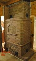 Печь камин с хлебной камерой